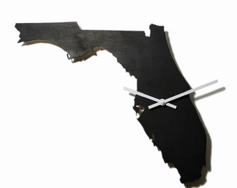 FLORIDA Map WALL CLOCK