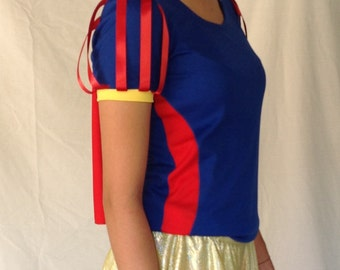 Snow White inspired running top