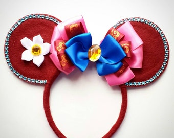 Mulan inspired Minnie Mouse Ears