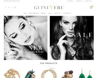 Custom E-commerce Website Design, Online Shop Website Design, Boutique Website Design, Wordpress Website Design