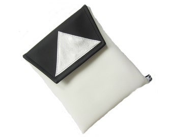 IPAD cover geomatrix black-white