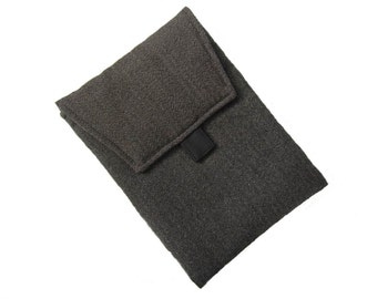IPAD cover Herringbone wool