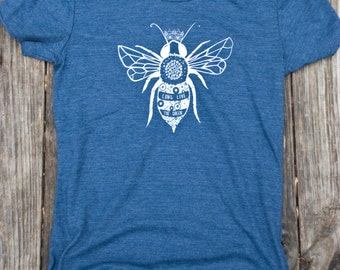 Women's- Long Live the Queen- Heathered Navy