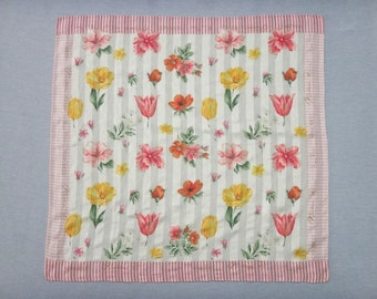 NINA RICCI Floral Handkerchief M
