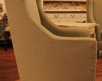 Upholstered Lawrence Chair  *50% Deposit*