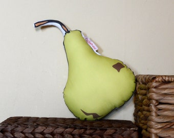 Pear Cotton Pillow