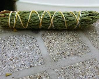 Med Cedar Bundle approximately 5 inches, wild harvested, Reiki infused