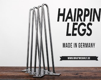 Hairpin legs L (70cm) - quad set table legs