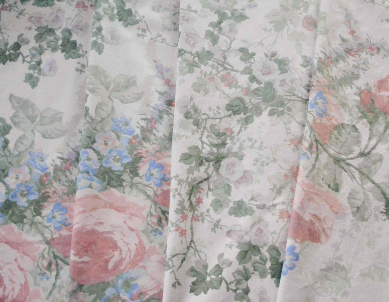 Sanderson amelia vintage shabby chic fabric for Tissu shabby chic