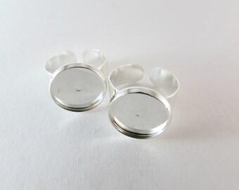 D-00215 - 2 Pad ring base 14mm base