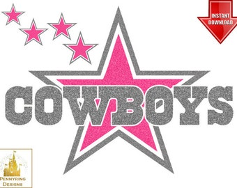 popular items for dallas cowboys decal on etsy