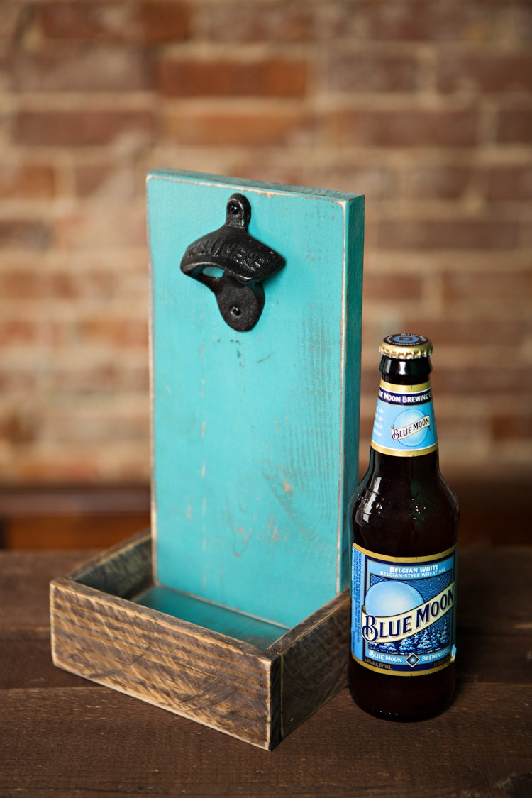 Beer Bottle Opener And Cap Catcher Cloudburst By Thehenryhouse