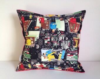 Star Trek pillow cover Leonard Nimoy William Shatner Trekkie cushion