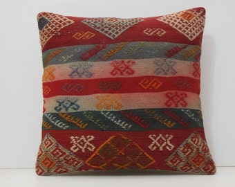 Bright Pillows 20x20 Turkish Pillow By Decolickilimpillows