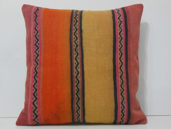 24x24 cushion covers decolic moroccan by decolickilimpillows for Sofa cushion covers 24x24