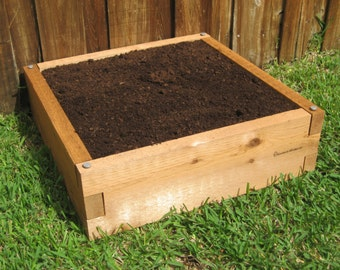 4x4 Cedar Raised Garden Bed