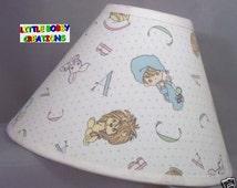 Nursery Precious Moments Lion Baby Fabric Lamp Shade