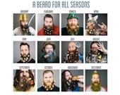 2016 Beard Calendar