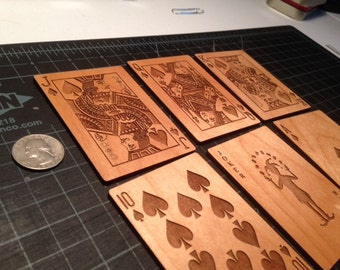 Wooden Playing Cards