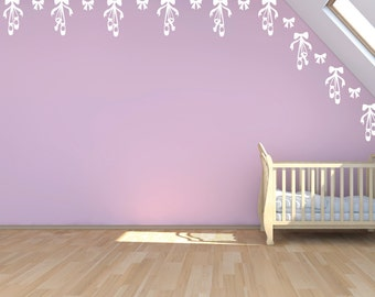 Ballet Border - Ballet Fabric Wall Decals
