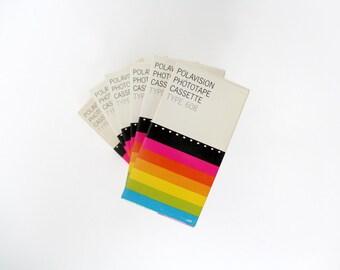 Vintage 70s Polaroid Polavision Phototape Cassette Type 608
