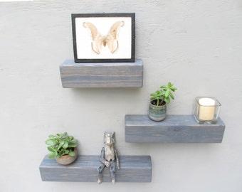 floating shelves for bathroom