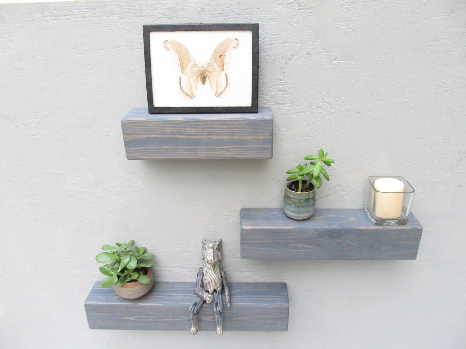 Floating Shelves Bathroom Decor : Floating shelves wall shelf bathroom decor modern