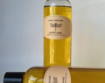 100% Pure Castile Soap 8 oz