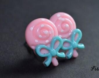 Earrings sweet on clips