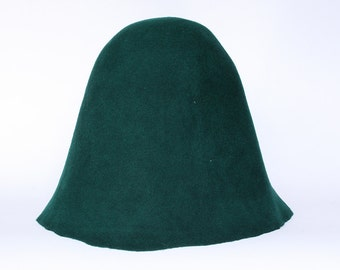 Wool felt body cones NEW COLORS  Felt bodies for Millinery hat hood
