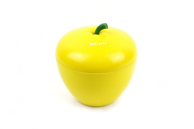 bac gla ons pomme jaune 70 39 s. Black Bedroom Furniture Sets. Home Design Ideas