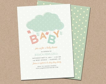 Baby Shower - Book Themed Invitations