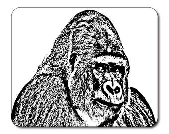 Gorilla Mouse Mat Mouse Pad