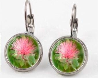 Pink Wisp Earrings or Ring