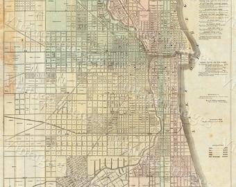 Paris Map Huge Vintage Historic Old World Map Of Paris France - Restoration hardware paris map