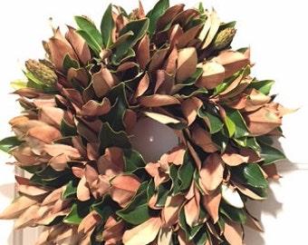 Premium Handmade Magnolia Wreath 18-20 inches