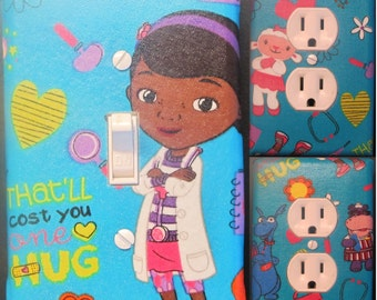 Doc McStuffins Light Switch and Outlet Covers