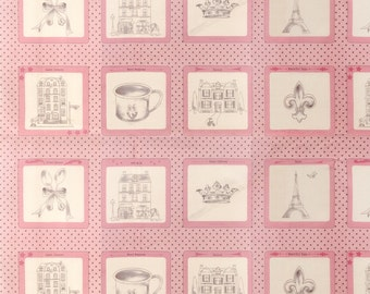 Ooh La La by Bunny Hill Designs for Moda Fabrics, pink