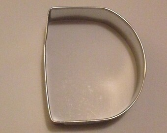 """3"""" Letter D Cookie Cutter"""