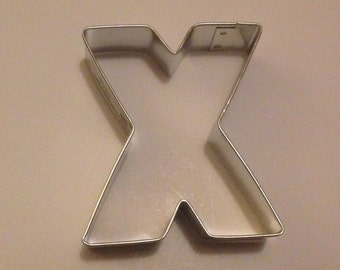 """3"""" Letter X Cookie Cutter"""