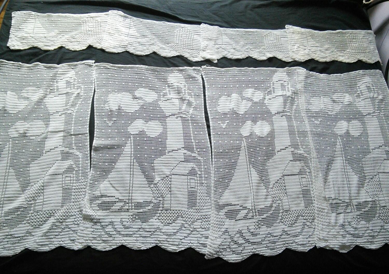 Black lace curtains vintage - This Shop Is Taking A Short Break