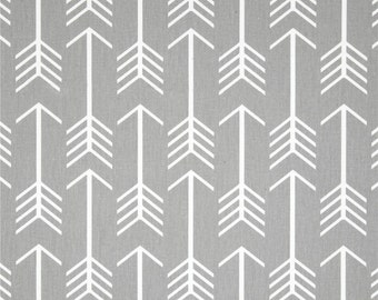 Grey Arrow Fabric by the YARD geometric upholstery home decor Premier Prints storm crafts curtains drapes pillows  SHIPsFAST