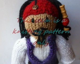 PDF knitting pattern: Jack Sparrow (PotC)