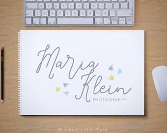 Photography Logo - Modern Logo design - premade logo design