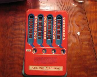 Vintage Wolverine Toy Metal Adding Machine