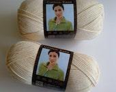 Lion Brand CottonEase Almond - DeStashing Sale