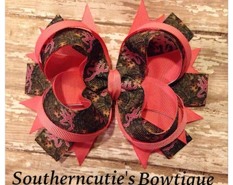 Hot Pink Browning Camo Stacked Bow