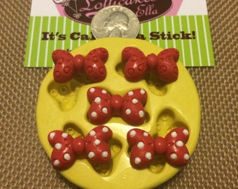 5 pc Minnie Mouse Bow