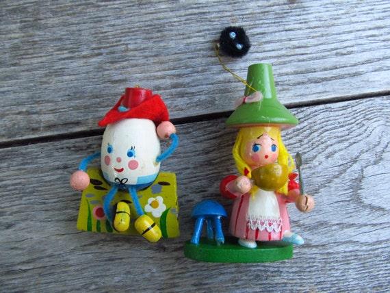 Traditional Nursery Rhyme Scraps - vintage-ornaments