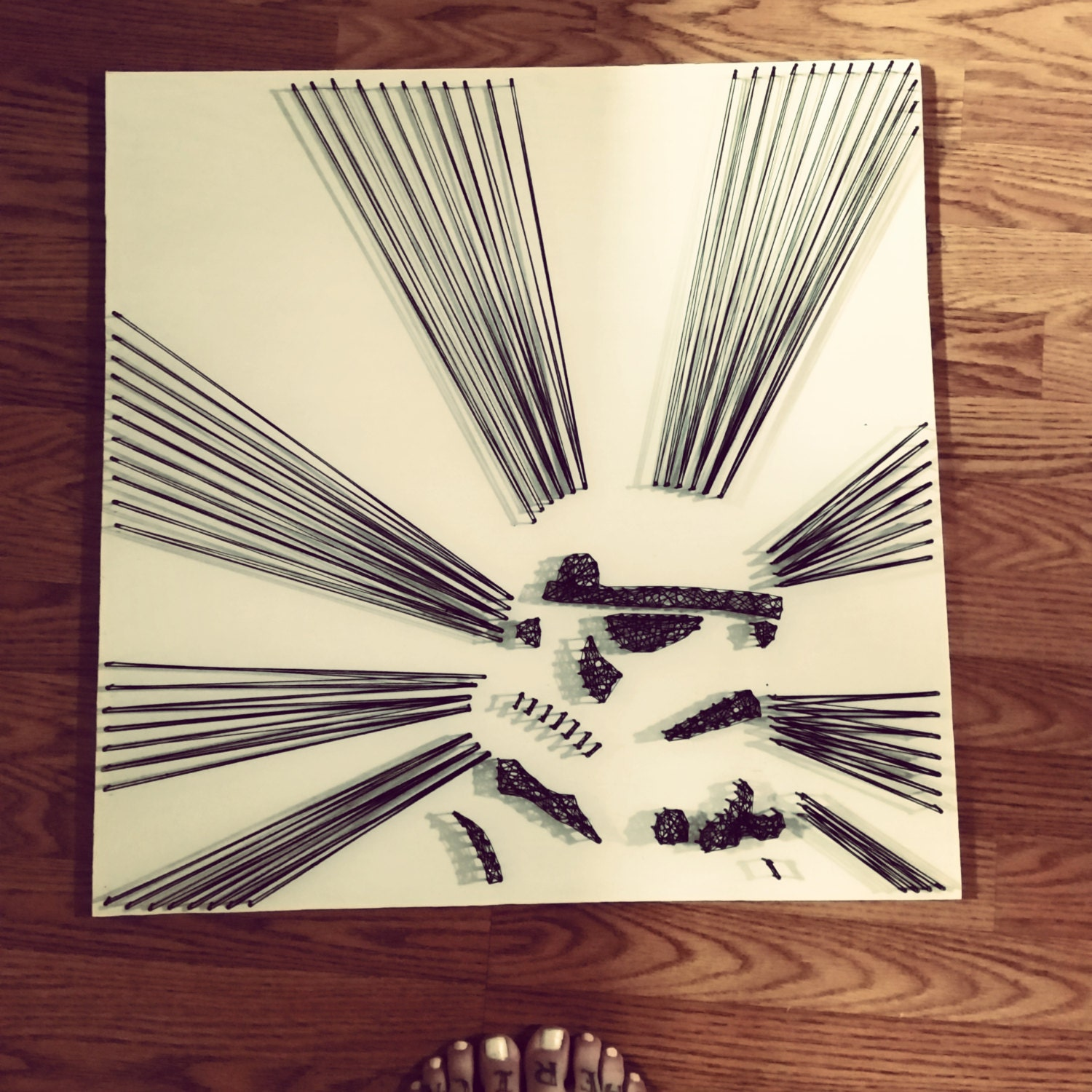 Star wars storm trooper string art - String art modele ...
